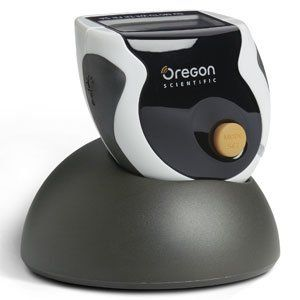 Oregon Scientific PE830 SmartSync Pedometer. Oregon Scientific - SmartSync Pedometer Step counter Total distance traveled Total calories burned One-week daily memory Daily target (Step, Calorie, and Distance) count-down Estimated target finish time Count-down/up timer Step, Calorie, and Distance within timer Clock (12/24) with weekdays and alarm Buzzer (beep tone) EL Backlight Keypad Lock Low battery detection PC Download via USB cable.