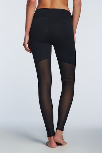 Mesh Back Leggings