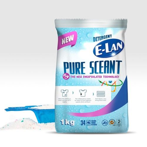 Guaranteed Prize Detergent Packaging For E Lan Brand Product