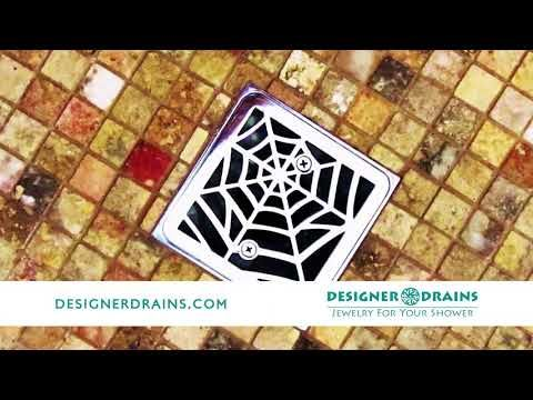 Shower Drain Covers For Round Shower Drains And Square Shower