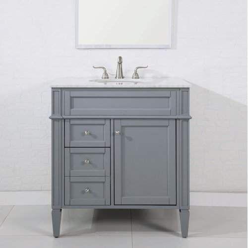Antionette 32 Single Bathroom Vanity Set Single Bathroom Vanity