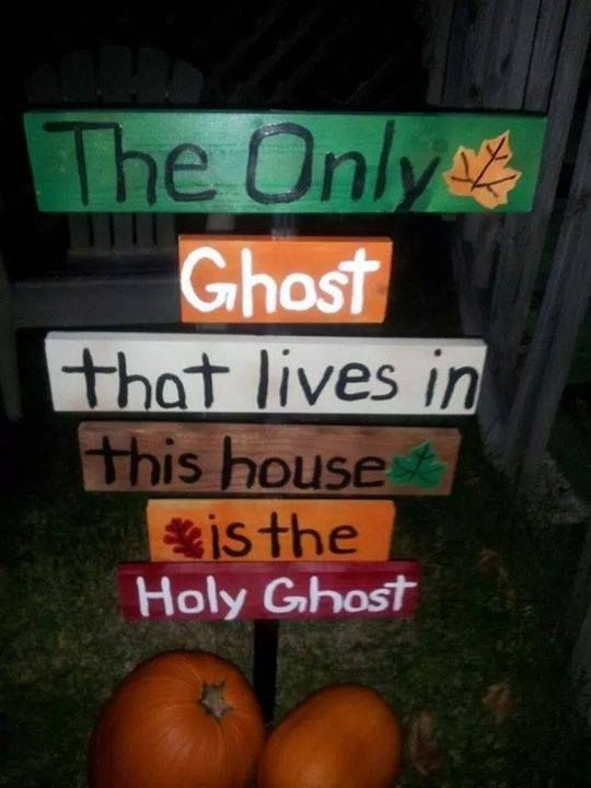Image result for the only ghost is the holy ghost gif