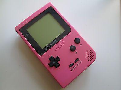 Nintendo Game Boy Pocket (Pink) Handheld System