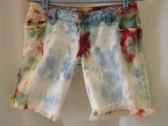 There goes that tie dye obsession again...