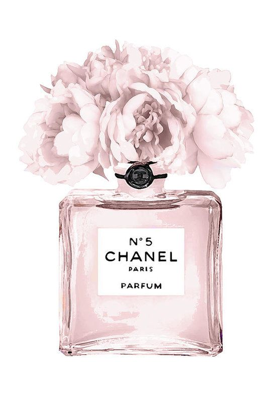 Chanel N 5 Perfume 9 Poster By Del Art In 2020 Chanel Wall Art Chanel Art Print Fashion Wall Art