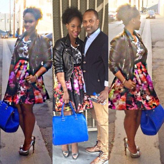 Sara Jakes Roberts and Husband Pastor Toure Roberts.