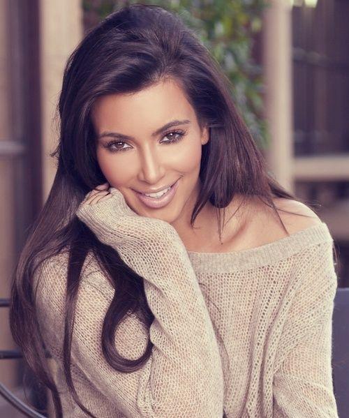 Kim Kardashian- fashion icon. ❤ Her!