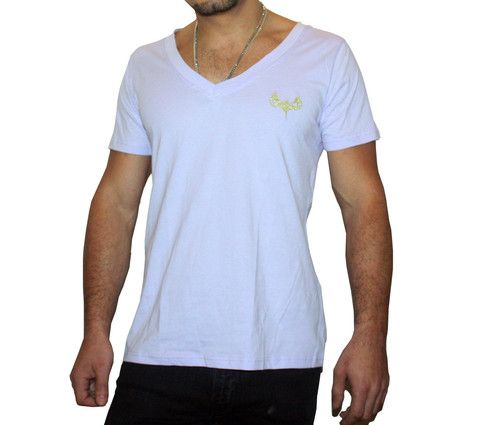 Mens - Light Deep V T-shirt