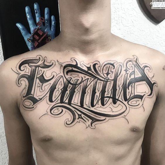 Tatuajes De Familia 33 Disenos Actualizado Fuentes De Letras Para Tatuaje Fuentes Cursivas Para Tatuajes Tatuajes Satanicos