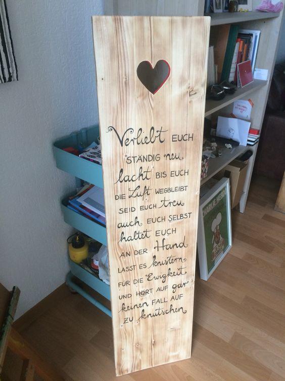 wedding #hochzeit  Holz  Pinterest  Hochzeit, Facebook und ...