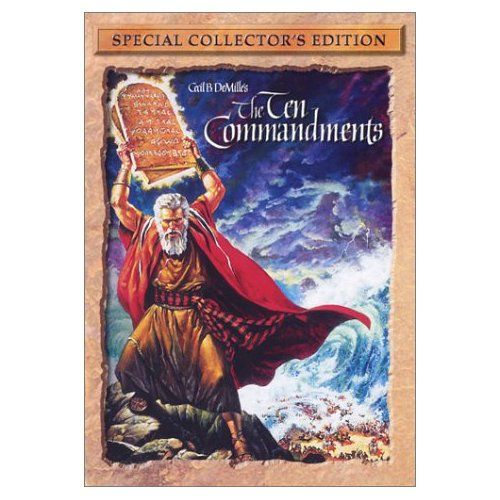 Amazon.com: The Ten Commandments (Special Collector's Edition): Charleton Heston, Yul Brynner: Movies & TV