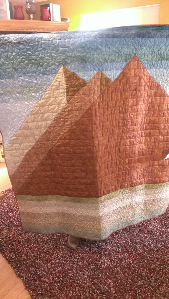Chris Pyramid quilt his own design 2013