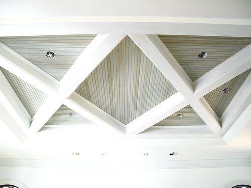 Coffered ceiling detail by brock builders architecture for Coffered ceiling detail