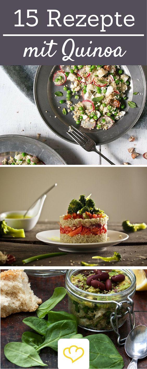 Das Superfood aus Südamerika ist eine leckere Alternative zu Reis und Nudeln. Hier kommen die 15 besten Rezepte mit Quinoa!