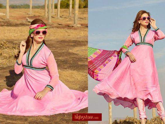 http://www.high5store.com/salwar-kameez-dress-materials/263472-admirable-pink-chiffon-anarkali-suit.html