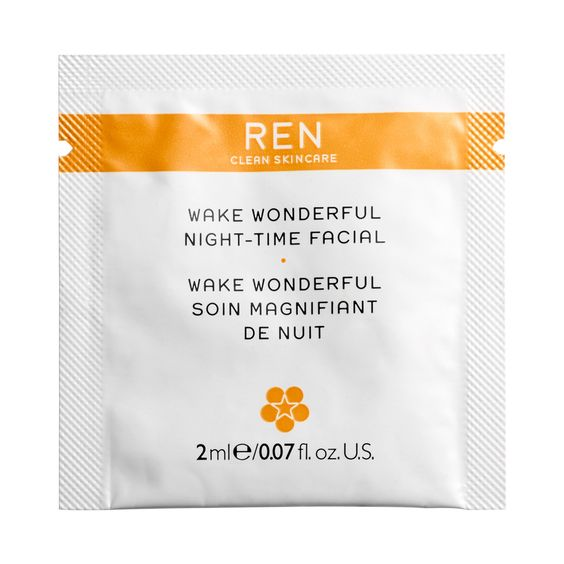 Ren Wake Wonderful Night-Time Facial (sample)