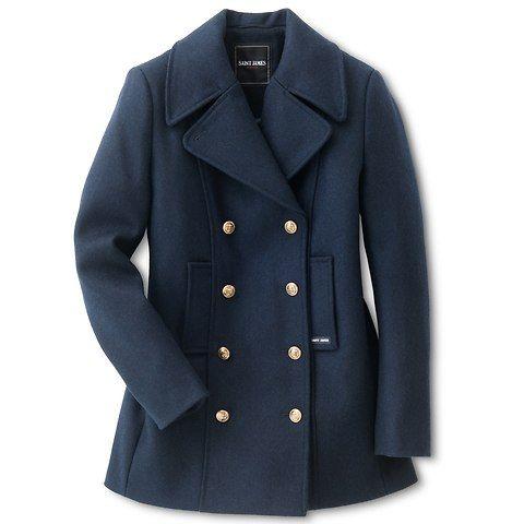 Saint James Damen Caban Jacke In 2020 Heiliger Jakob Cabanjacke Damen Jacken