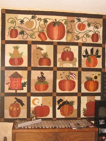 The Great Pumpkin quilt: