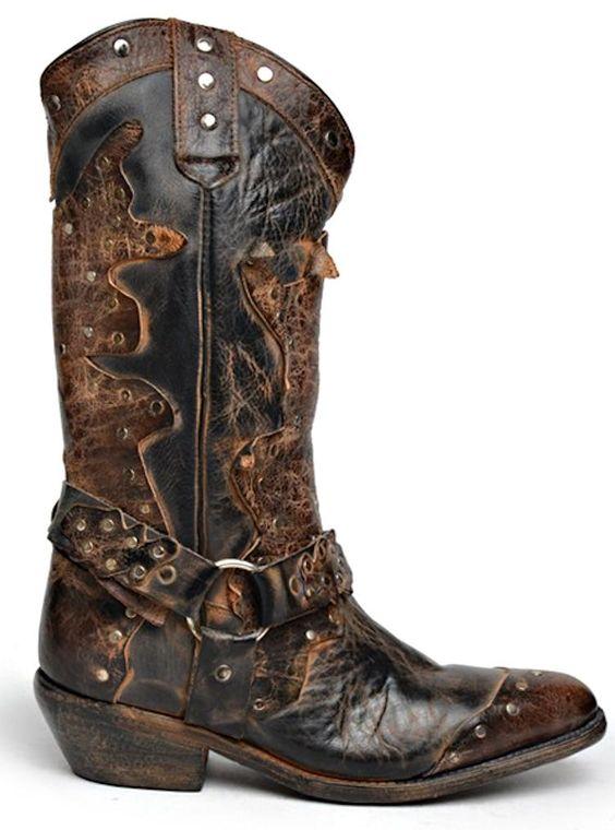 Bed Stu Boots Women's Rubic - Black Rustic Chocolate - #CowgirlChic