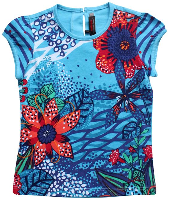 Retail $56 and our price $33.99 (http://www.bittybirdieboutique.com/catimini-blue-tropical-tee-size-7/)