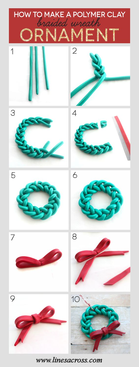 Handmade Braided Wreath Ornament A Quick And Simple Diy
