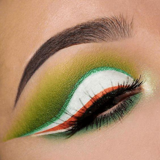 41 Looks: Makeup for St Patricks Day > CherryCherryBeauty.com [laurabrady_mua / Instagram]