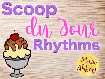 Scoop du Jour Rhythms {A Bundle of Rhythm Games for the Mu