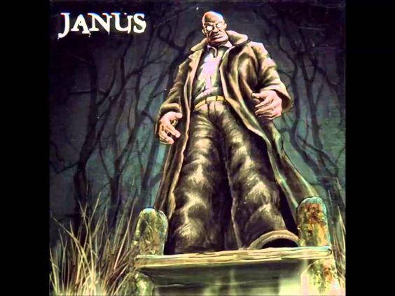 Janus - Kopf in Flammen
