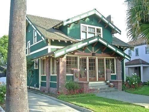 Enclosed Porch Designs For Houses Craftsman House Porch Design