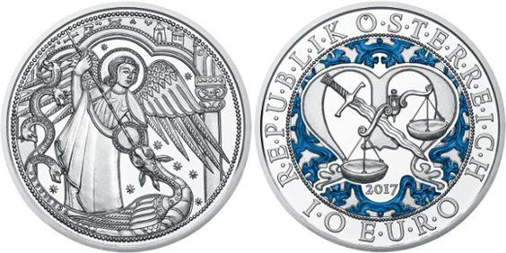 Moneda 10 euros Serie Ángeles Guardianes – Miguel: