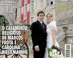 Resultado de imagem para casamento da carolina dieckmann marcos frota