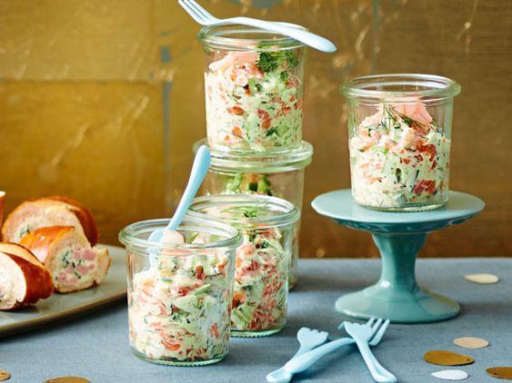 Rezepte im Glas - raffinierte Snacks mit Durchblick