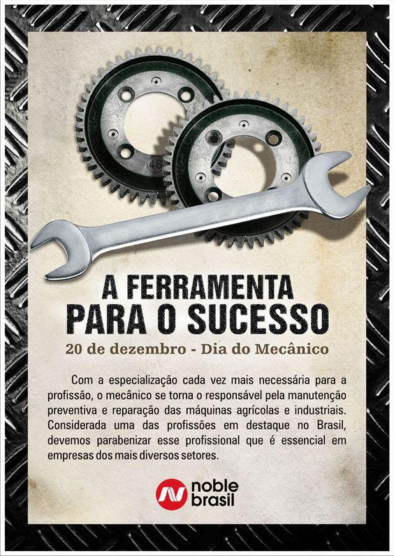 20 de novembro - Dia do mecânico