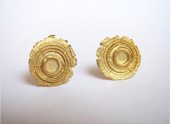 Shot Earrings - Gold