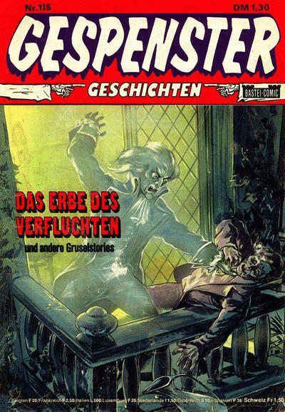 Cover for Gespenster Geschichten (Bastei Verlag, 1974 series) #115