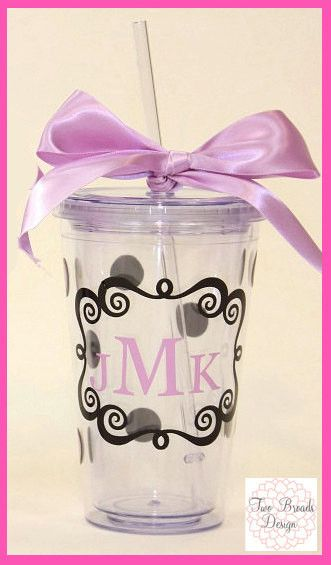 Personalized Wedding Party Acrylic Tumbler