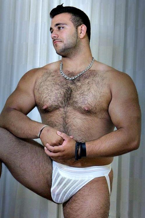 Silver chest grandpa porn-7541