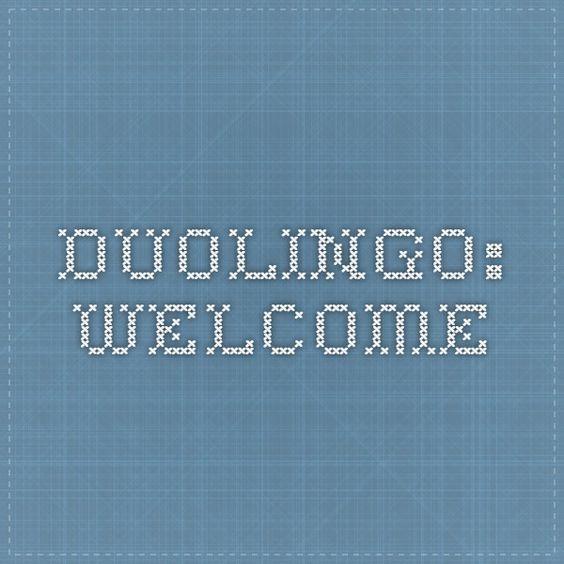Duolingo: Welcome