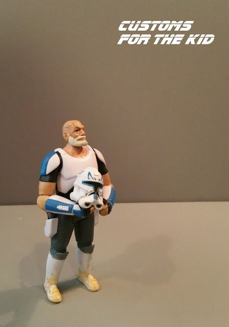 "Star Wars: Customs for the Kid: STAR WARS REBELS ""CAPTAIN REX"" created by Darth Daddy"