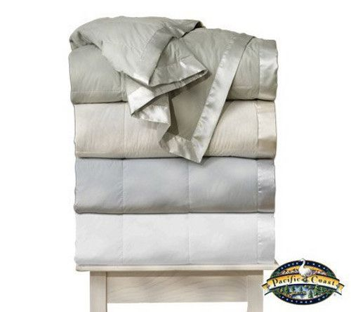 Discount Duos - Pacific Coast® Down Blanket Light Warmth Satin Trim 230 Thread Count All Sizes, $119.99 (http://www.discountduos.com/pacific-coast-down-blanket-light-warmth-satin-trim-230-thread-count-all-sizes/)