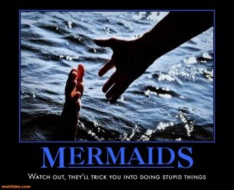 mermaids are sneaky