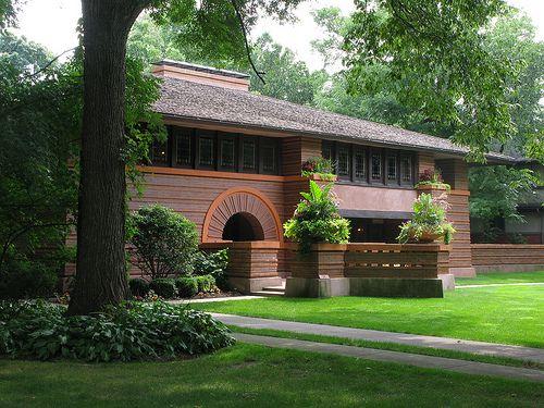 Heurtley House - Frank Lloyd Wright