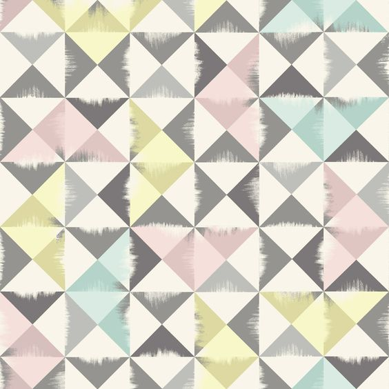 Triangle Brush - Grey - Fototapeter & Tapeter - Photowall ...