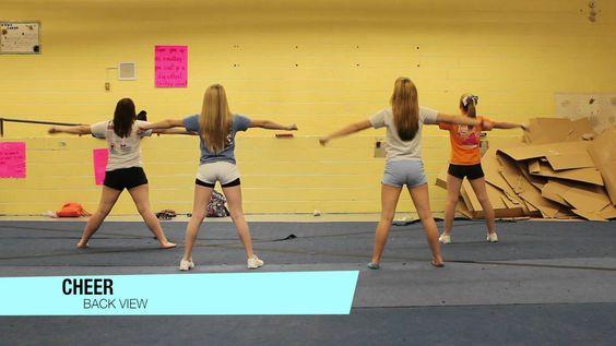 Beginner Cheerleading Dance - Cheer Music - video dailymotion