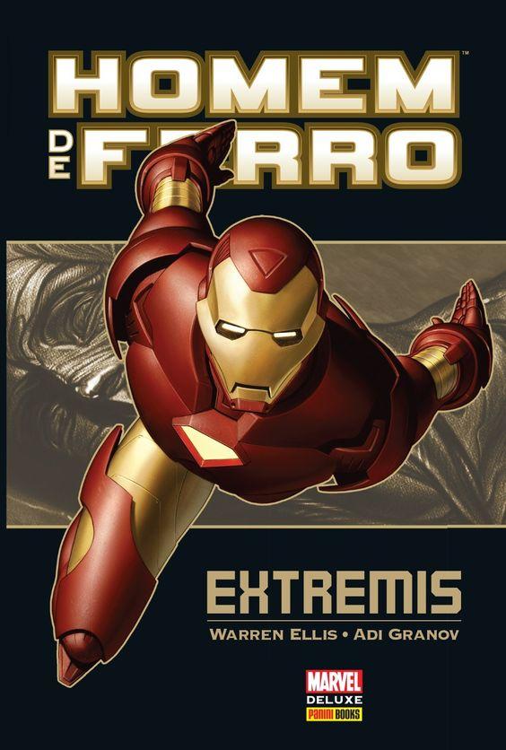 Homem de Ferro - Extremis - Marvel Deluxe - MonsterBrain