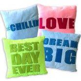 "14"" sayings pillow"