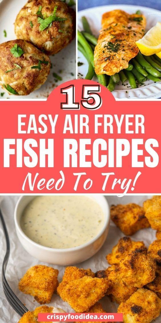 air fryer fish recipes