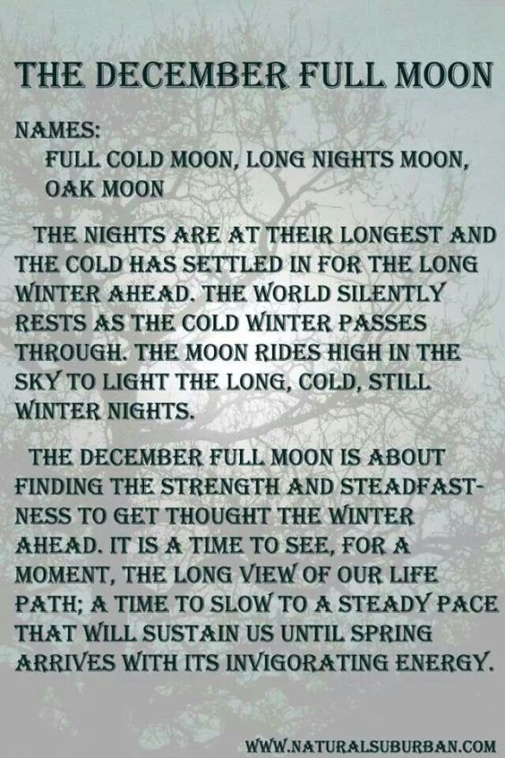 Image result for Images of december full moons