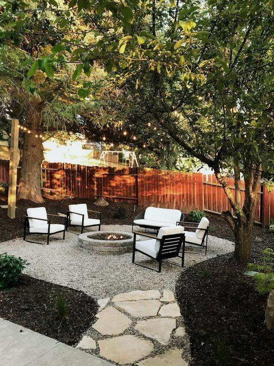 50 Diy Small Backyard Makeovers Ideas On A Budget Wwp Trending In 2020 Backyard Makeover Backyard Landscaping Designs Backyard Seating Area
