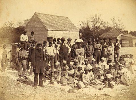 Slaves of the Confederate general Thomas Drayton